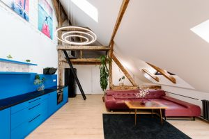 2,5 izbový (94 m2) - štýlový, zariadený mezonet s atraktívnym dizajnom